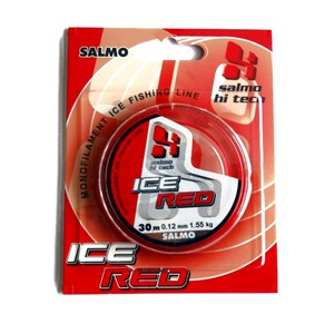 Леска Salmo Hi-Tech ICE RED 30м