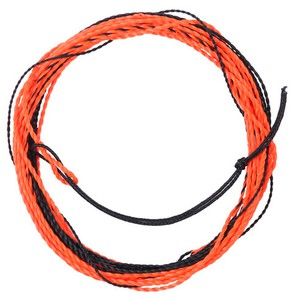 Шнур для тенкары Fly-Fishing Nylon furled tenkara leader 12 ft Orange/Yellow
