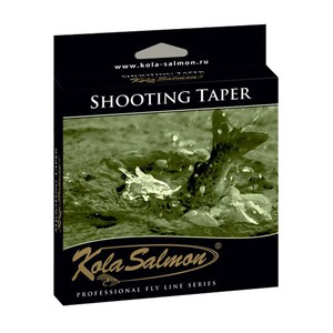 Нахлыстовый шнур Kola Salmon Shooting Taper WF5F