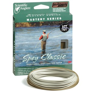 Нахлыстовый шнур Scientific Anglers Mastery series Spey Classic WF8F Orange/Dk Willow