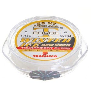 Леска Trabucco T-Force Winter Ice 25м